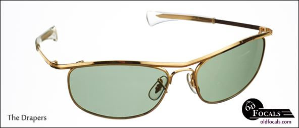 The Drapers as worn by John Hamm aka Don Draper, Mad Men season 6. available exclusively from Old Focals.