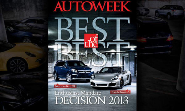 AutoWeek Chooses the Best of the Best 2013