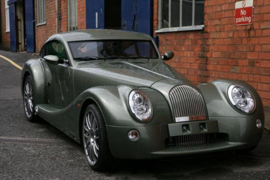 A Morgan Motor Car
