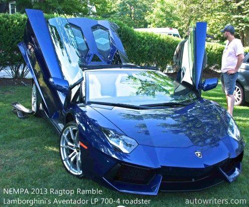 Lamborghini�s Aventador LP 700-4 roadster