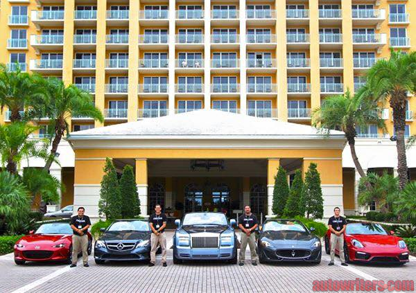 Porsche Boxter GTS took top honors in the fifth annual Topless in Miami event presented by Haartz and judged by members of SAMA.