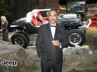 Myron Stokes at Detroit Auto Show