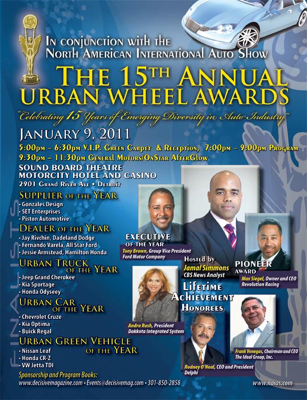 15th Annual Urban Wheel Awards