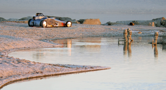 "Louise Noeth's Winning Photo ""Salton Sea Roadster"""