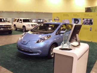 Nissan Leaf: Best Vehicle at Miami Auto Show