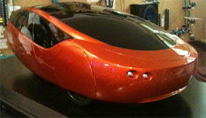 Urbee - first car to have entire body 3-D painted